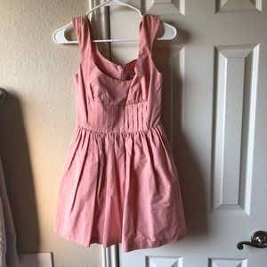 BCBG pink mini dress